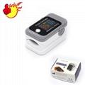 的  便攜式LED指尖脈搏血氧儀 5
