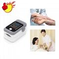 Cheap Newest Portable LED Fingertip pulse oximeter