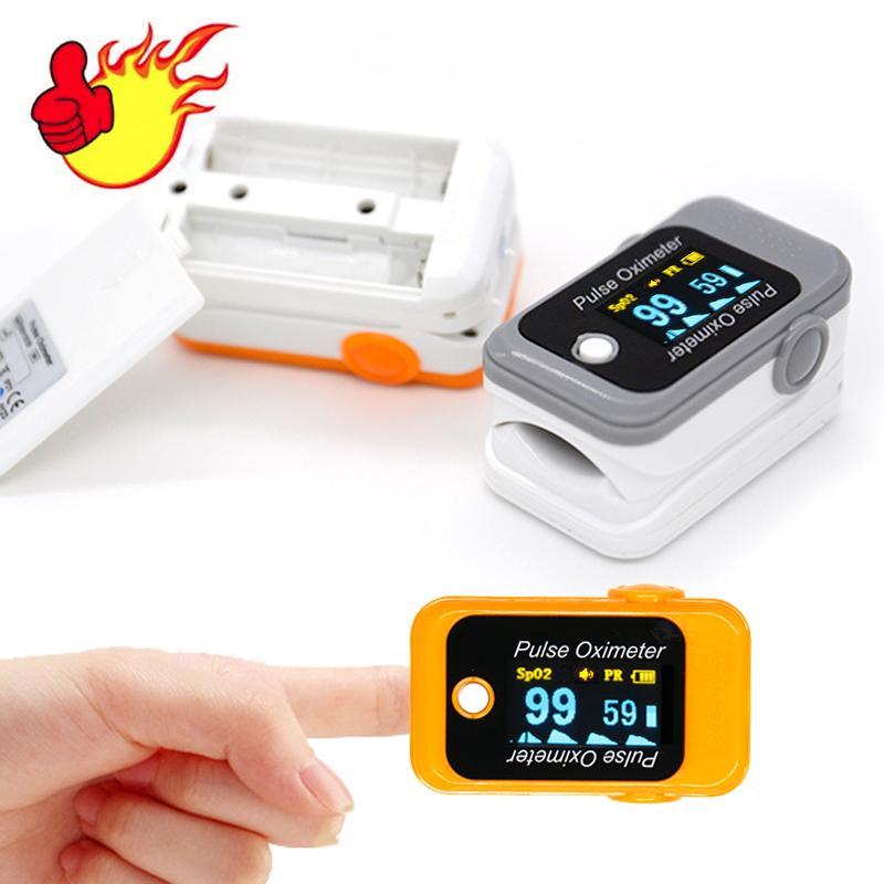 2018年CE认证的OLED指尖脉搏血氧仪 2