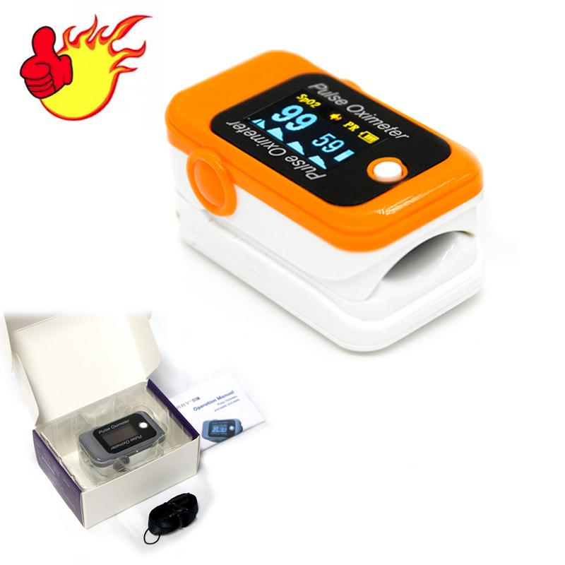 2018年CE認証的OLED指尖脈搏血氧儀 8