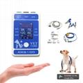 Animal 6multiparameter ecg medical portable Bluetooth patient monitor