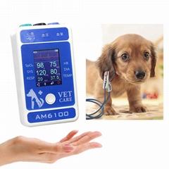 動物6參數醫用心電圖藍牙患者監護儀