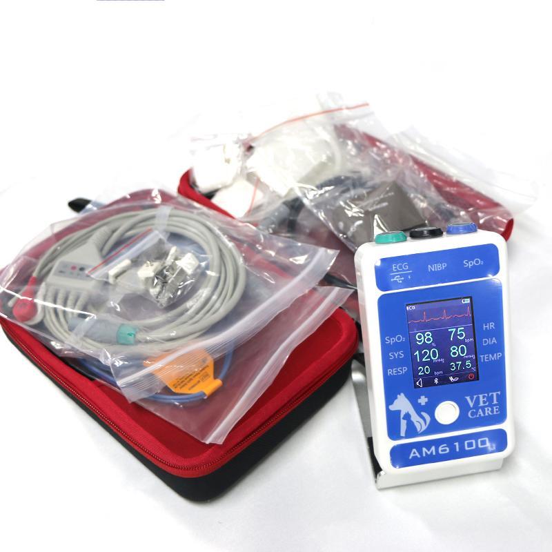 動物6參數醫用心電圖藍牙患者監護儀 9