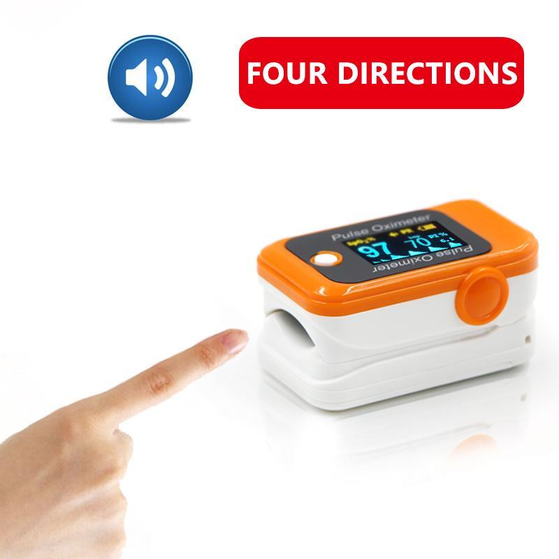廉价OLED小儿便携式指尖脉搏血氧仪 8