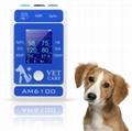 快速到達帶CE認証的動物/獸醫手持式心電圖監視器 1