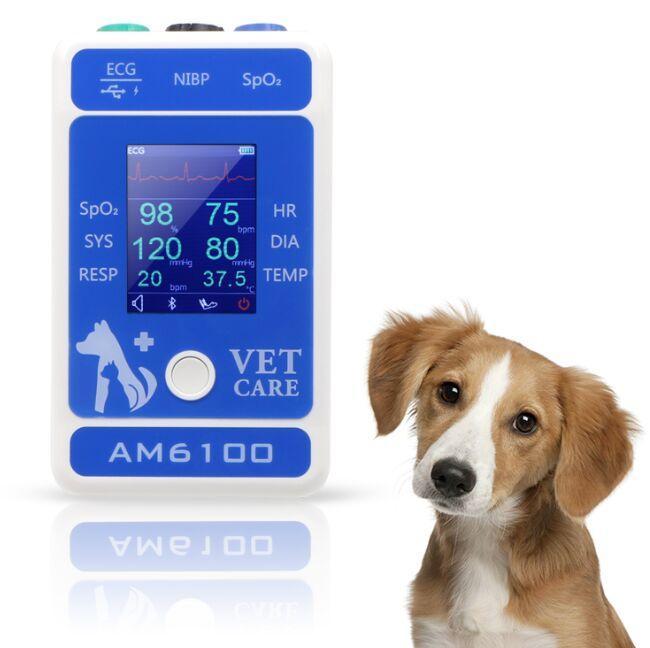價格門診多參數便攜式獸醫動物監護儀 7