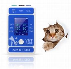 价格门诊多参数便携式兽医动物监护仪