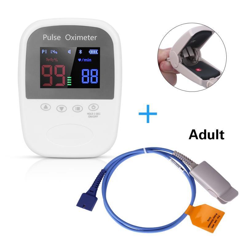 CE認証價格低廉的OLED屏手持式脈搏血氧儀 1