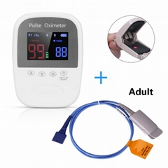 CE認証價格低廉的OLED屏手持式脈搏血氧儀
