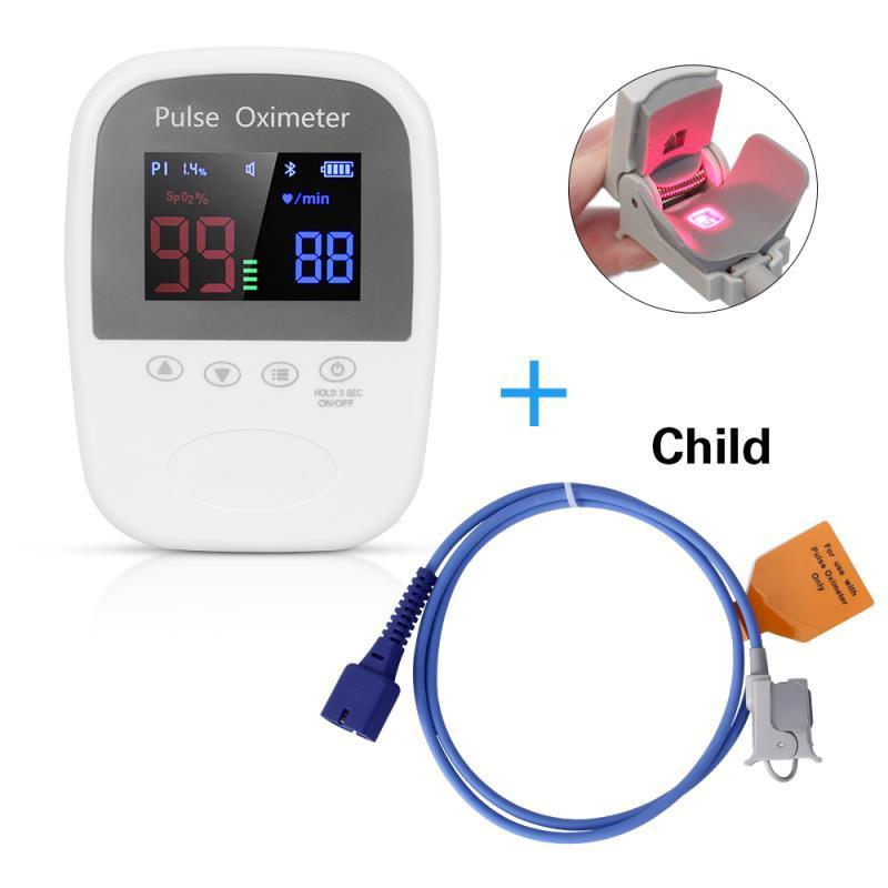 适用于医院、诊所的手持式高性能脉搏血氧仪 1