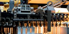 LXG-2/5 2400bph 5L Auto Bottle Blow Molding Machine(9 Cavities)
