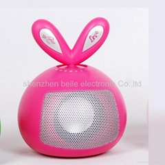 cartoon speaker