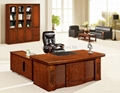 Nice Wood Veneer Office Table Office Furniture Project