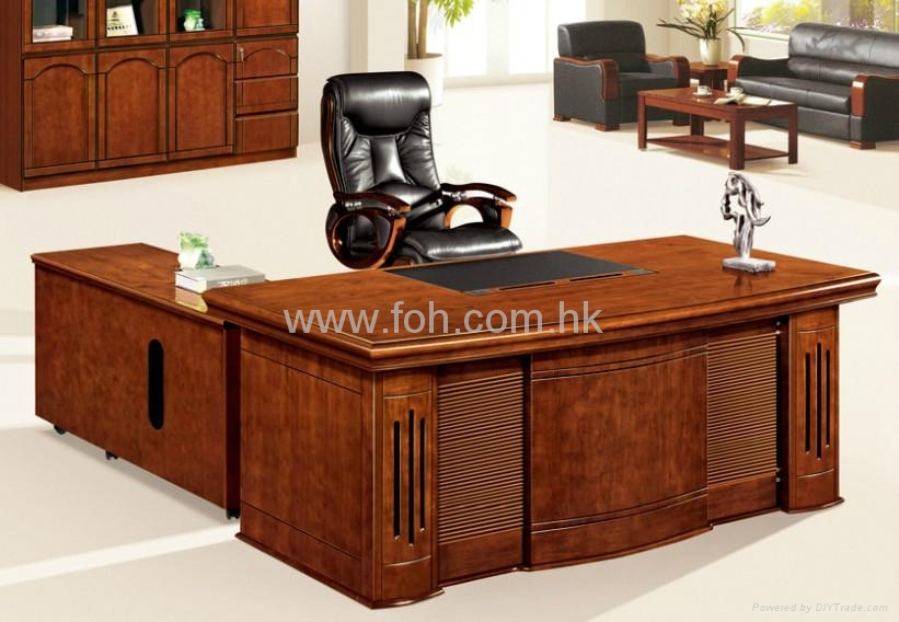 Nice Wood Veneer Office Table Office Furniture Project FOHS A2059 FOH Ch