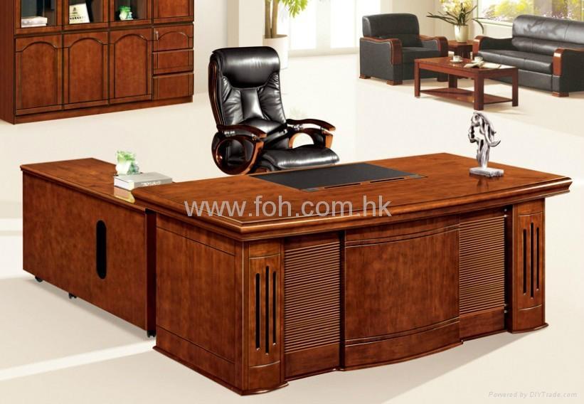 ... Nice Wood Veneer Office Table Office Furniture Project 2 ...