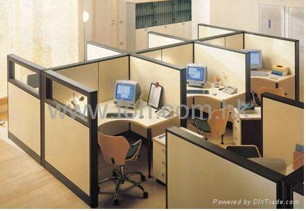 Modern Custom Office Cubicle Workstation 5x5x5ft