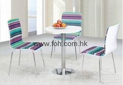 Cheap Chic Canteen Cafeteria Dining Table and Chair