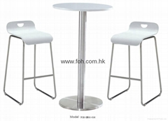 Cheap Quality High Glossy Modern High Bar Stool