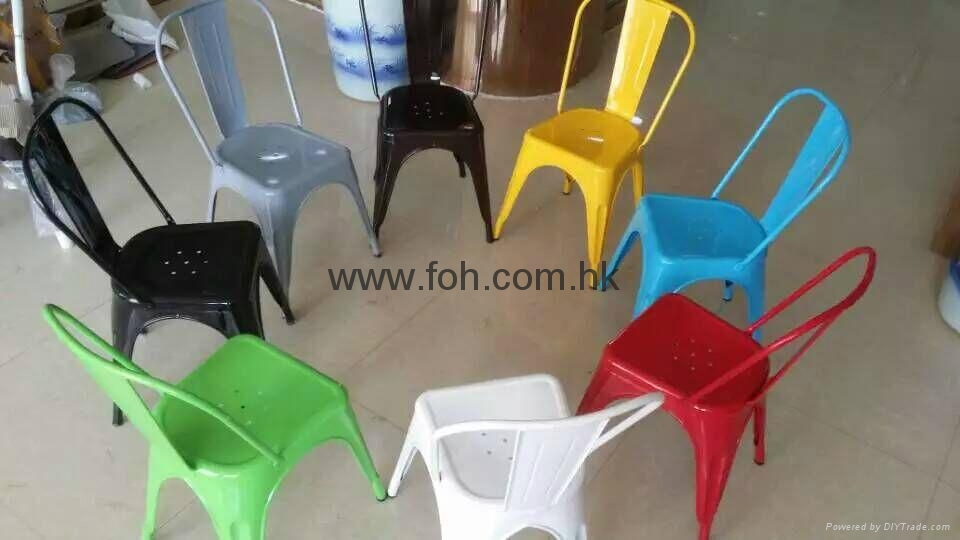 Metal Cafe Chairs Wholesale Free Shipping Metal Steel Powder