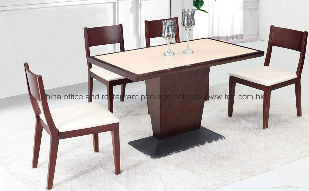 High quality durable wooden dining table sets foh bca03 for Quality wood dining tables