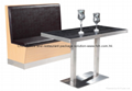 High quality leather retaurant/cafe booth for sale