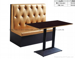 High quality single side tufted restaurant booth (Hot Product - 1*)