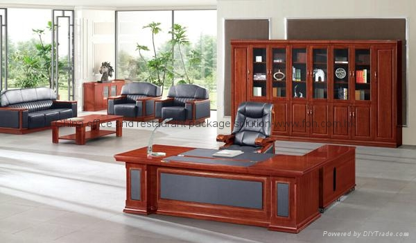 High End Office Furniture Boss Office Desk For Sale 1