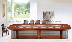 Luxury wood design congress table boardroom furniture