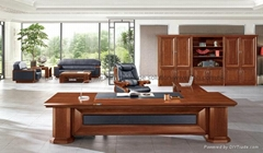 High end executive furniture boss office desk set
