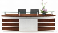 High quality office front counter reception desk for sale