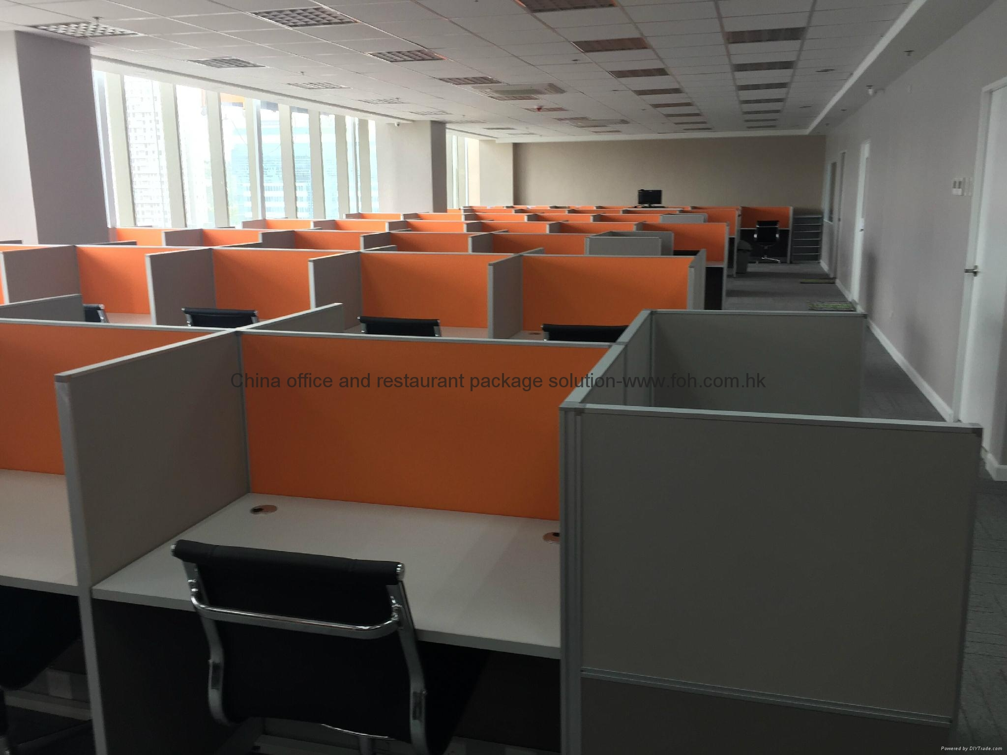Cubicle call center office furniture call center call for Furniture one