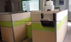 United States Office Partition Cubicle Made in Guangzhou