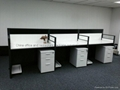 Simple Modern Office Workstation in USA Style