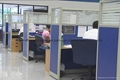 India Call Center Partition Working Desk Sound Proof Cubicles
