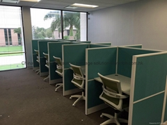 Sound Insulation Office Partition Working Cubicles Office Workstation