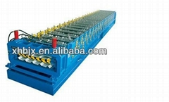 double layer roof panel machine dual-level forming machine
