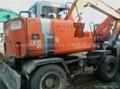 HITACHI  EX60-1WD Small wheel excavators