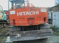HITACHI  EX60-1WD Small wheel excavators