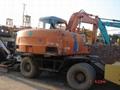HITACHI-EX100-1 Used wheels Excavator