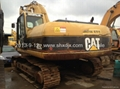 Used  Caterpillar excavator used 325C
