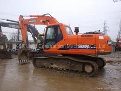 used doosan excavator DH