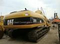 used Caterpillar 325C excavator used