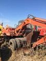 used hitachi wheel excavator ex100