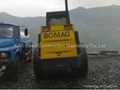 used Bomag roller BW 217 PD-2