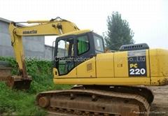 used Komatsu excavator P