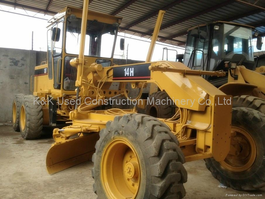 used Caterpillar 14H motor grader 2