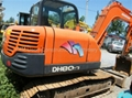 used Doosan excavator DH80-7