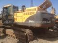 used Volvo excavator EC460BLC