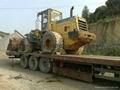 Wheeled Komatsu WA360-3 loader