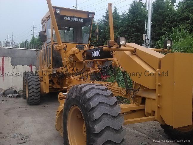 Used  caterpillar 140K motor grader 7